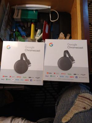 Google chrome cast package deal for Sale in Vacaville, CA