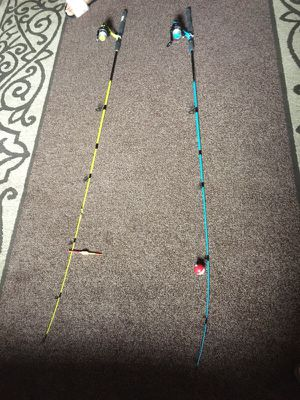 Brand new fishing rods 6ft medium light 2 piece rod for Sale in East Pittsburgh, PA