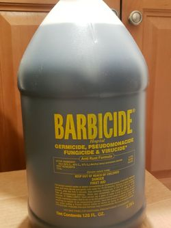 Unopened Barbicide Gallons for Sale in Seattle,  WA
