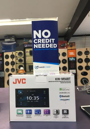 JVC Car stereo KW-M56BT monitor and receiver for Sale in Huntington Beach, CA