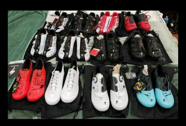 New Specialized SWorks Carbon Soles Road and Mountain Bike Shoes $150-$300 each