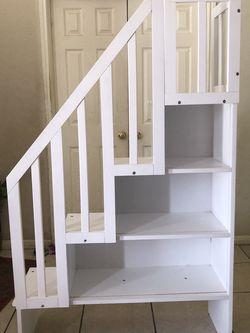 white Shelf Ladder for Sale in Kyle,  TX
