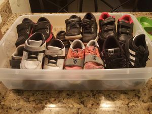 Lot of little boys shoes sneakers Size 8.5 9 9.5 10 10.5 11 for Sale in Hollywood, FL