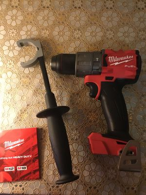 Milwaukee. M18 FUEL Lithium Ion Brushless Premium Hammer Drill Driver (Tool Only). 2804-20. for Sale in Brooklyn, NY
