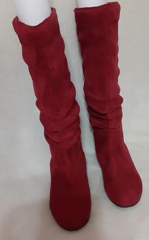 Top Moda flat heel, calf, round toe boots 7.5 for Sale in Dallas, TX