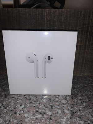 APPLE AIRPODS (REAL, BRAND NEW, FACTORY SEALED) for Sale in Rockledge, FL