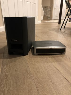 Bose 321 Series III DVD Home Entertainment System for Sale in Haworth, NJ