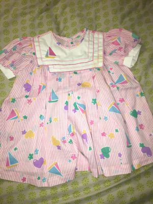 Vintage you are in Wonderland Girls Dress Pink with Shapes 3T for Sale in Fort Worth, TX