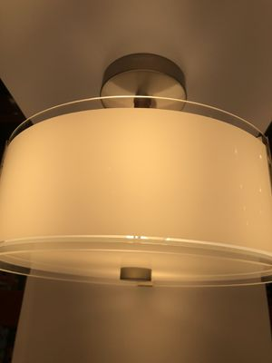 New Artika subway series designer semi-flushmount light for Sale in Rochester, NY