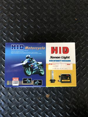 HID H7 Conversion kit 6000k for Motorcycle for Sale in Parkland, FL