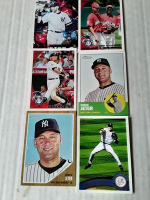 11 Derek Jeter Baseball Cards. for Sale in Philadelphia, PA