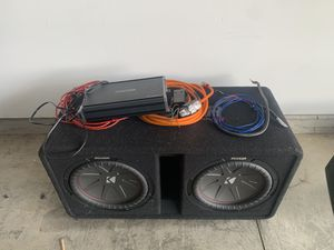 Kicker Dual 12 inch subs for Sale in Camp Lejeune, NC