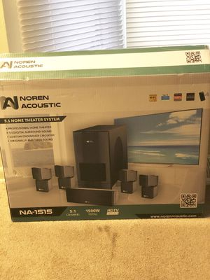 (BRAND NEW) Noren Acoustic 5.1 Home Theater System for Sale in Columbus, OH
