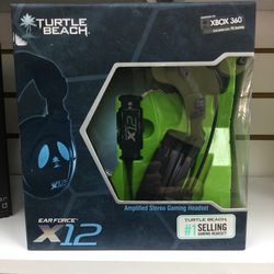 Turtle Beach X12 Xbox 360 Gaming Headset for Sale in Fort Lauderdale,  FL