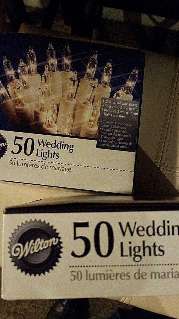 Wedding lights 50 never been used