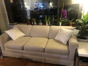 Tan Couch for Sale in Washington, DC