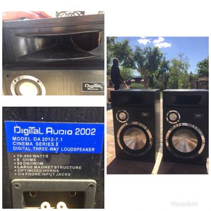 Digital Audio 2002 - Model DA 2012 Monitor Three Way Loudspeaker for Sale in Phoenix, AZ