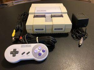 Super Nintendo Video Game System for Sale in Manassas, VA