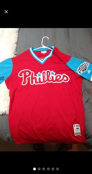 Phillies little league jersey sir Anthony Dominguez NWOT for Sale in Philadelphia, PA