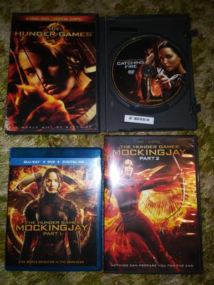 All 4 discs full series The Hunger games for Sale in Kansas City, MO