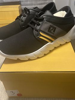 NEW Fendi Forever Black Runner Sneakers Sz 12 US / 11 UK for Sale in Randolph,  MA