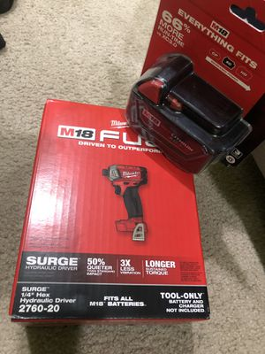 Milwaukee surge drill for Sale in Houston, TX