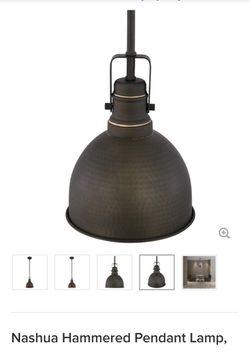 Nashua Hammered Pendant Lamp for Sale in Phoenix,  AZ