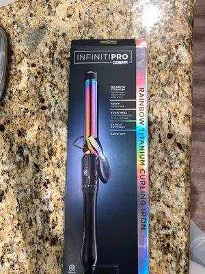 Conair Pro Rainbow Titanium Curling Iron for Sale in Orange, CA