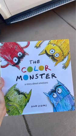 The Color Monster by Anna Llenas - kids story book about emotions for Sale in Goodyear,  AZ