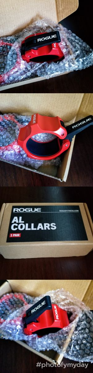 🔥🔥 NEW Rogue Aluminum Cerakote Barbell Collars🔥🔥 gym equipment,barbell,weights,hoist,adjustable bench,squat rack,weights,dumbbells, Rep Fitness for Sale in Avondale, AZ