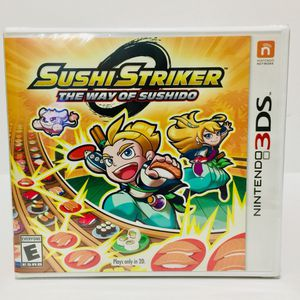 Brand New Sushi Striker: The Way of Sushido Nintendo 3DS for Sale in Bothell, WA