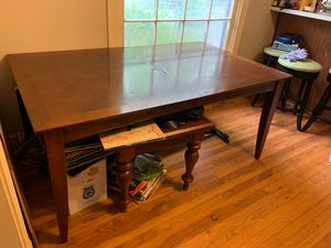 "Wooden kitchen table. 66"" long 40"" wide for Sale in Austin, TX"