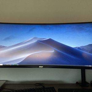 Acer Ultrawide Monitor 34 Inch for Sale in Pompano Beach, FL