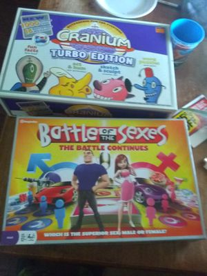 2 board games almost new for Sale in Lorain, OH
