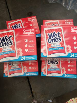 6 boxes of wet ones for Sale in Hacienda Heights, CA