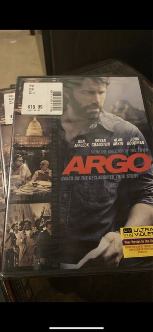 Argo DVD, new for Sale in Plainfield, IL
