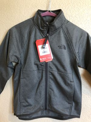 The North Face Boys Grey Tech Glacier Full Zip XS (6) and XXS (5) for Sale in Las Vegas, NV