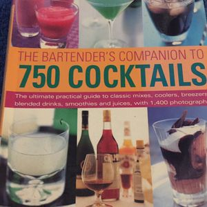The Bartenders Companion To 750 Cocktails for Sale in Aberdeen, WA