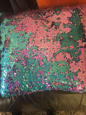 Sequin pillow 2 for 10 for Sale in Crestwood, IL