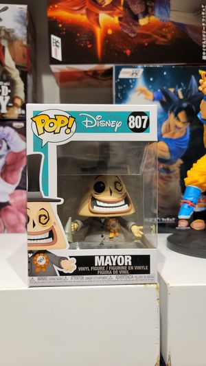 MAYOR # 807 Funko POP! THE NIGHTMARE BEFORE CHRISTMAS for Sale in Glendale, CA