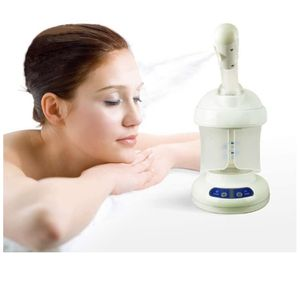 Facial Steamer, with Extendable Arm Table Top Ozone Spa Face Steamer Design For Personal Care Use At Home or Salon, White for Sale in La Grange, IL
