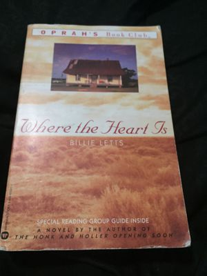 Where the Heart Is by Billie Letts for Sale in San Diego, CA