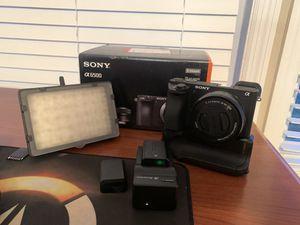 Camera Sony a6500 + accessories for Sale in Orlando, FL