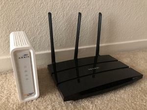 Modem and router for Sale in San Francisco, CA