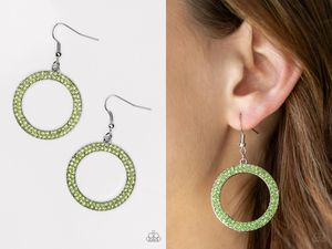 Bubbly babe green earring for Sale in Rockville, MD