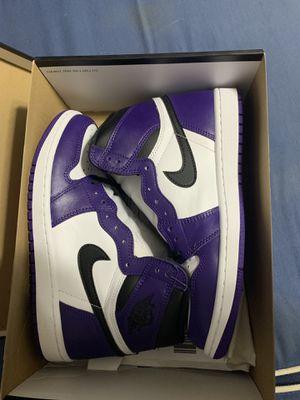 Jordan 1 Court Purple 2.0 for Sale in Miami, FL