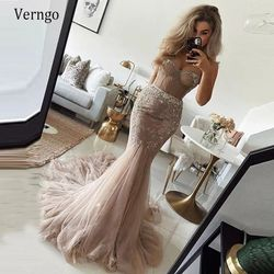 Verngo Stylish Champagne Mermaid Wedding Dress for Sale in Atlanta,  GA