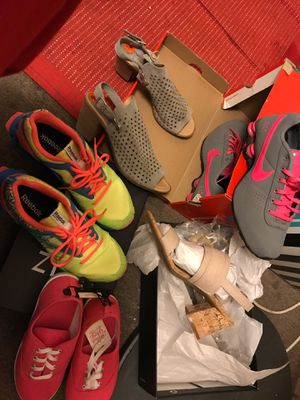 Nike shox,Reebok,naturalizer,sophia Milano and faded glory for Sale in Oakland, CA