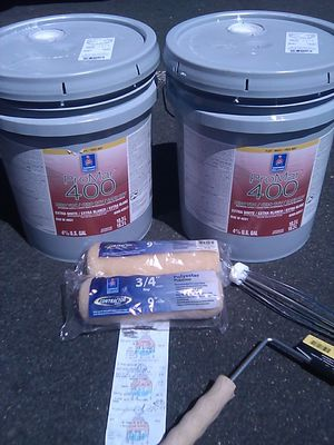 Paint with roller skins and frame for Sale in La Mesa, CA