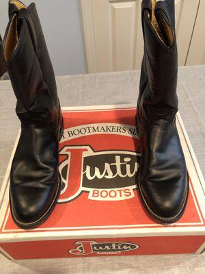 Roper black Spanish Kipskin boots size women's size 8 for Sale in Greensburg, PA